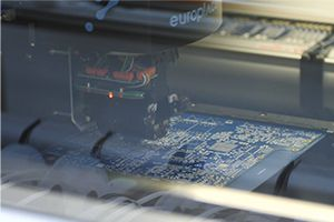 Circuit Board being manufactured in the Linn factory