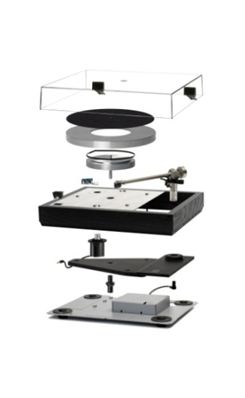 Linn LP12 Exploded Diagram