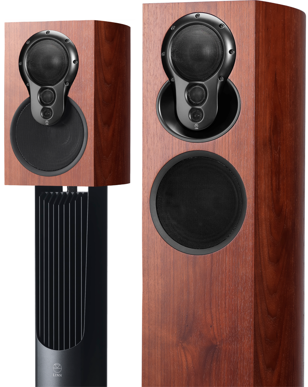 Linn Akudorik and Akubarik Speakers