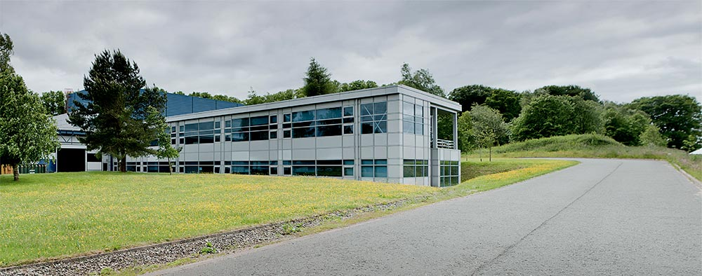 The Linn factory in Scotland.