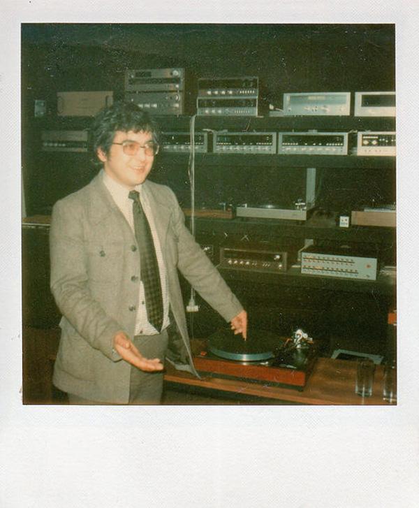 Ivor demonstrating the LP12