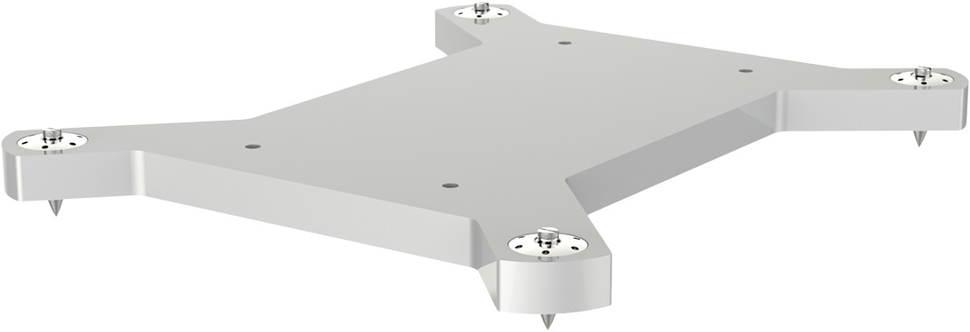 Akurate 242 Upgrade Stand — Silver